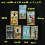 ดวงรายสัปดาห์ จ.30 ธ.ค.62 – อา.5 ม.ค.63 By พี่วิ เพจบูเช็คเทียนพยากรณ์